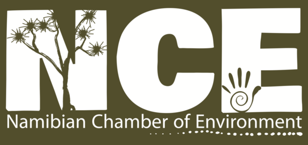 Namibian Chamber of Environment (NCE) logo.