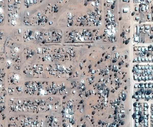 Informal settlement from the air